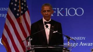 Download Barack Obama Full Speech 2017 Profiles in Courage Award Video