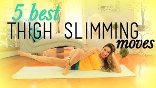 Download 5 Best THIGH SLIMMING Exercises Video