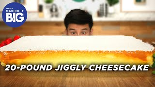 Download I Made A Giant 20-Pound Jiggly Cheesecake • Tasty Video