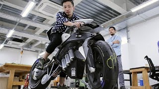 Download Yamaha MOTOROID - THE BEST ELECTRIC MOTORCYCLE / Leaning electric motorcycle Video