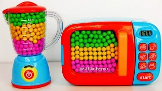 Download Microwave and Blender Toy Appliance Candy Surprise Toys for Kids Video
