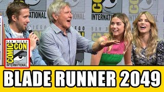 Download BLADE RUNNER 2049 Comic Con Panel News & Highlights Video