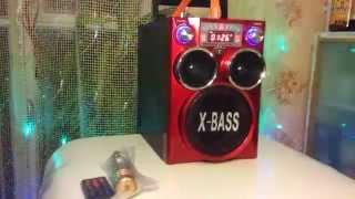 Download Грозный бумбокс NewKanon KN-2388MIC Video