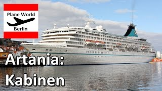 Download MS Artania *Phoenix Reisen Bonn*: Kabinen Beispiele 2016 Video