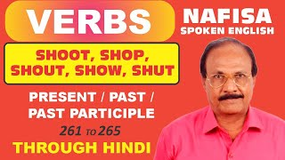 Download Spoken English through Hindi. Some verbs with their Hindi meanings ( 63 ) Video