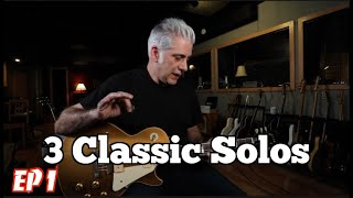 Download 3 Classic Guitar Solos Ep.1 Video
