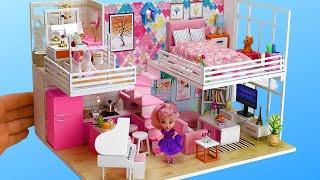 Download 5DIY Dollhouse Rooms ~Bedroom, Bath room etc~ Video