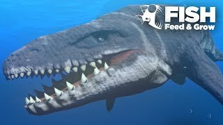 Download MOSASAUR IS THE BIGGEST!!! - Feed And Grow | Ep10 Video