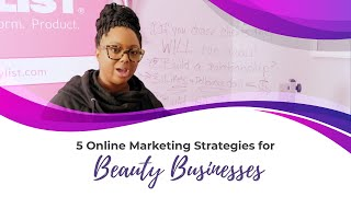 Download 5 Online Marketing Strategies For Beauty Businesses Video
