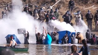 Download Standing Rock Protectors BRUTALIZED By Cops In Standoff Video