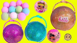 Download BIG LOL Surprise BAll Haul ! Baby Dolls Sisters + Fizzy Water Bombs Video