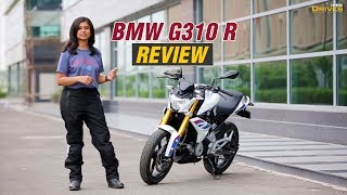 Download BMW G310 R Review: Most affordable BMW but costliest in its segment Video