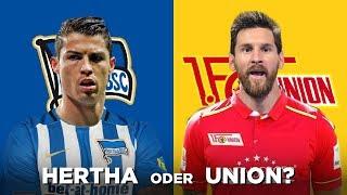 Download Ich frage FUSSBALLSTARS? Hertha BSC oder Union Berlin? Base Berlin - Viva Con Agua ⚽️ Video