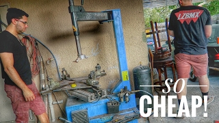 Download WE GOT OUR OWN TIRE MACHINE FOR $500! Video