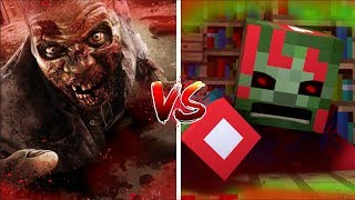 Download Minecraft vs Real Life: How to Kill Zombies! (Minecraft Animation) Video