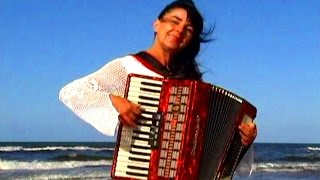 Download WIESŁAWA DUDKOWIAK - with Accordion on Beach 2 , The most beautiful relaxing melody Video