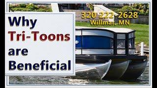 Download Triple Pontoons Explained, What are the Advantages - Pontoon for Sale St Cloud Minnesota Boat Dealer Video