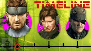 Download The Complete Metal Gear Solid Timeline (Pt. 2) - Solid Snake Ft. David Hayter   The Leaderboard Video