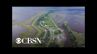 Download Small island off Louisiana coast is quickly disappearing Video