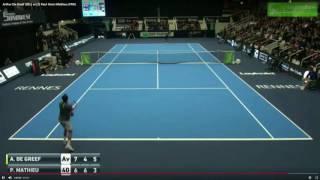Download Top 10 Saving Match Points - ATP Challenger 2017 - Part 1 Video
