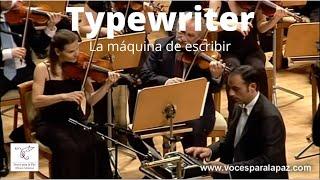 Download La máquina de escribir. L. Anderson. Dir: Miguel Roa. Máquina de escribir: Alfredo Anaya Video