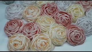 Download Como Hacer Flores de Tela super super Lindas paso a paso .Flores y Mas Mayra Video