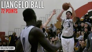 Download LiAngelo Ball Scores 72 POINTS! 13 Three Pointers! Full Highlights Video