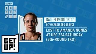 Download Raquel Pennington defends her corner after violent UFC 224 fight vs. Amanda Nunes | Get Up! | ESPN Video