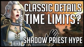 Download WoW Classic Restrictions Revealed - Shadow Priest Buffs In 8.1 | WoW BfA News Video