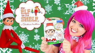 Download Coloring Elf On The Shelf Christmas Magic Ink Coloring & Activity Book Imagine Ink | KiMMi THE CLOWN Video