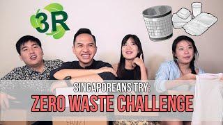 Download Singaporeans Try: Zero Waste Challenge | EP 70 Video