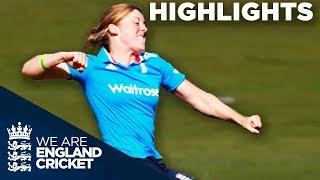 Download Highlights - England Women beat India Women in 1st Royal London ODI Video