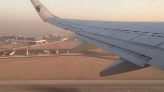 Download لحظات اقلاع طائرة مصر للطيران من مطار القاهره الدولي Video