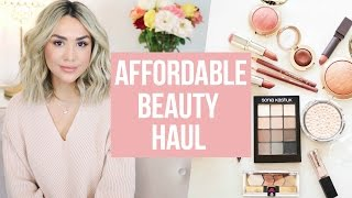 Download DRUGSTORE BEAUTY HAUL! BEST NUDE LIPSTICKS AND SHADOW PALETTES Video