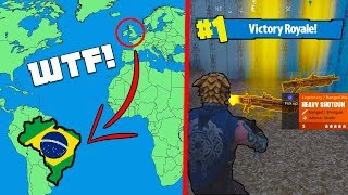 Download PLAYING FORTNITE on 'BRAZIL' SERVERS... 🇧🇷 (WTF!) #2 Video