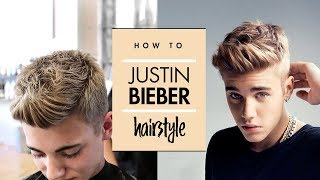 Download Justin Bieber Hair Tutorial ★ Men's Celebrity Hairstyle ★ By Vilain Gold Digger Video