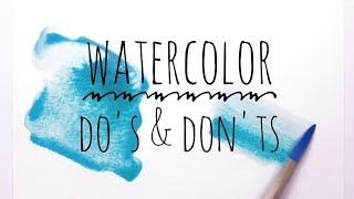 Download Watercolor Techniques Do's & Don'ts for Beginners Video