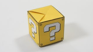 Download Origami Question Mark Box Video