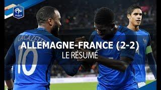 Download Équipe de France : Allemagne - France (2-2), le résumé I FFF 2017 Video