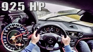 Download Mercedes E63 AMG Coupe 925 HP GAD 5.8 V8 BiTurbo POV Autobahn DRIVE by AutoTopNL Video