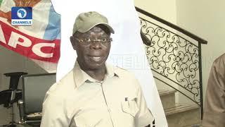 Download Oshiomhole Clears Air On Rivers,Ogun,Imo & Zamfara APC Primaries Pt.3 Video