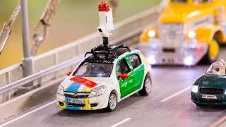 Download Explore the biggest model railway with the tiniest Street View - #MiniView on Google Maps Video