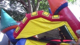 Download Bouncy House FAIL!! August 23, 2013 | Naptural85 Vlog Video