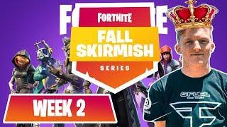 Download $10M Fortnite Fall Skirmish *ALL GAMES* (WEEK 1) #FortniteBR FT. NINJA, TFUE, NICK EH 30 Video