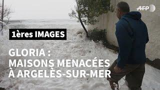 Download Tempête Gloria : maisons menacées dans les Pyrénées-Orientales   AFP Images Video