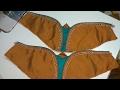 Download how to make designer blouse at home-35||Designer Bridal butterfly designer hand Video
