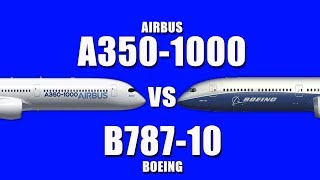 Download Airbus A350-1000 vs Boeing 787-10..! Which is your favorite ? Video