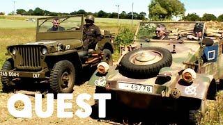 Download American Jeep Vs German Kubelwagen: Truck Face-Off   Combat Dealers Video