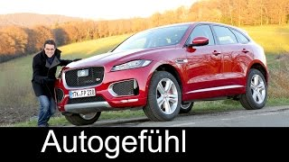 Download Jaguar F-PACE S V6 380 hp FULL REVIEW test driven 2017 - Autogefühl Video