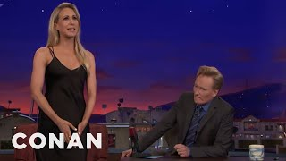 Download Nikki Glaser Compares Her Vagina To A Hastily Packed Suitcase - CONAN on TBS Video